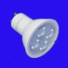 GU10 mains voltage led lamp is an alternative to 240v halogen spotlamps