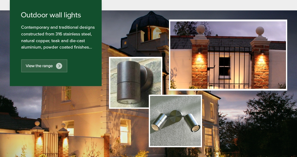 Outdoor-Wall-Lights-LED-Garden-House-Lighting-LED-Brass-Lights