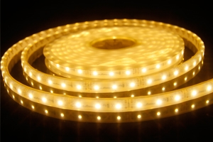 MicroLED 12v 10x6mm - Warm White LED  - 5 metres - 270L