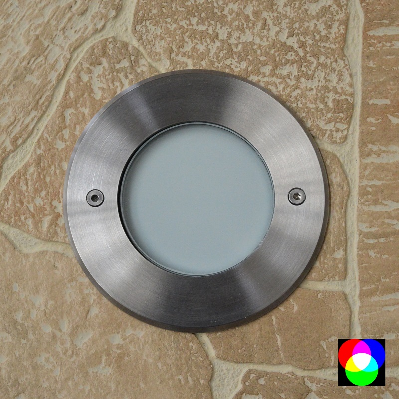 Walkover Opal Frosted Recessed RGB 24v DC Uplight 250 LM