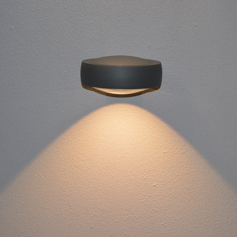 Lumex Wall Light 240v Grey