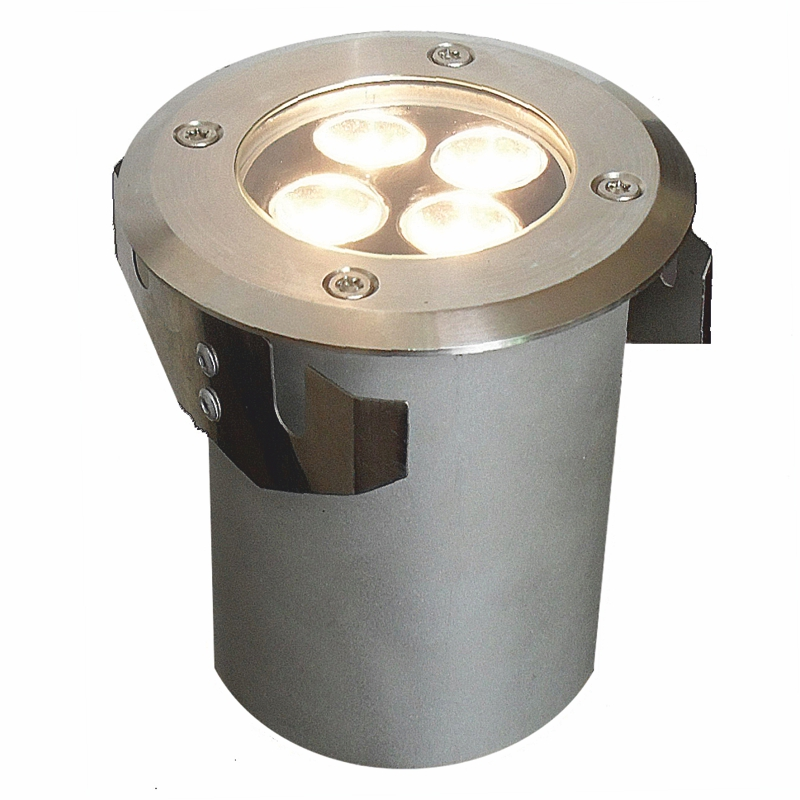 Lumilux  - Warm White 8w Recessed Light With Frosted Lens