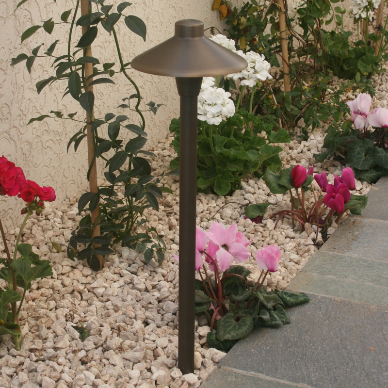 Nebula garden spreadlight is a stylish lighting choice for the modern terrace or garden