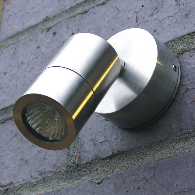 Microspot Wall - Stainless Steel - 12v