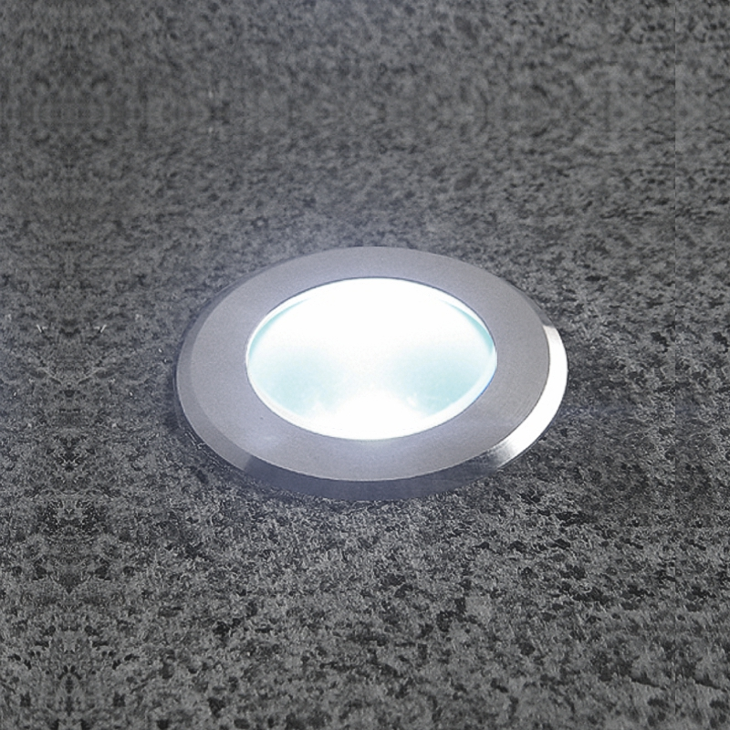 Lumina - Warm White 1w Deck Light With Frosted Lens