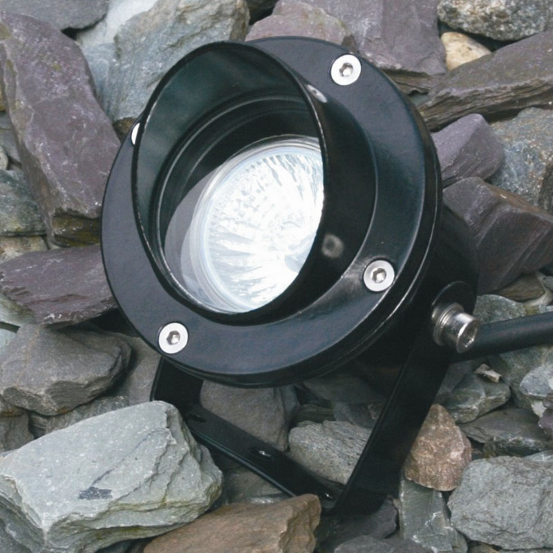 Atlantus Underwater Light with Glare Shield - Black