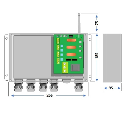 4-Channel 4X 500W Lighting Controller